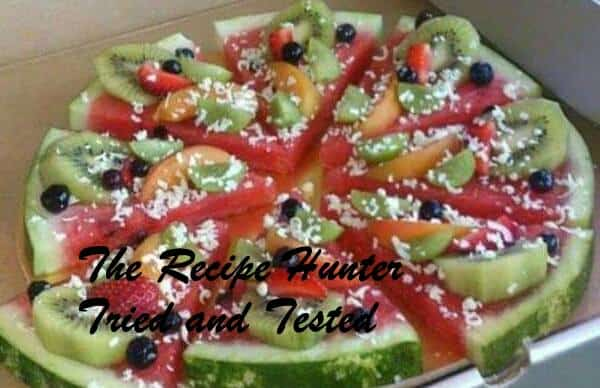 ‎Moumita's Low Calorie Fruit Pizza