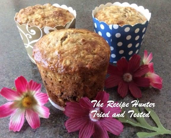 TRH Es's Wheat Bran and Craisin Muffins