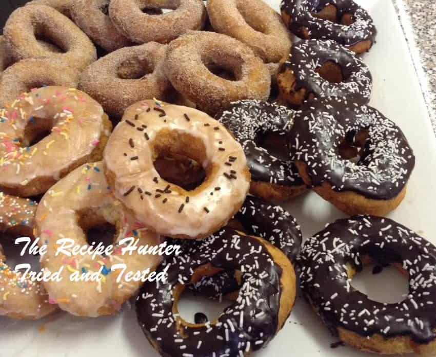 TRH Gail's 3 Ingredient Doughnuts