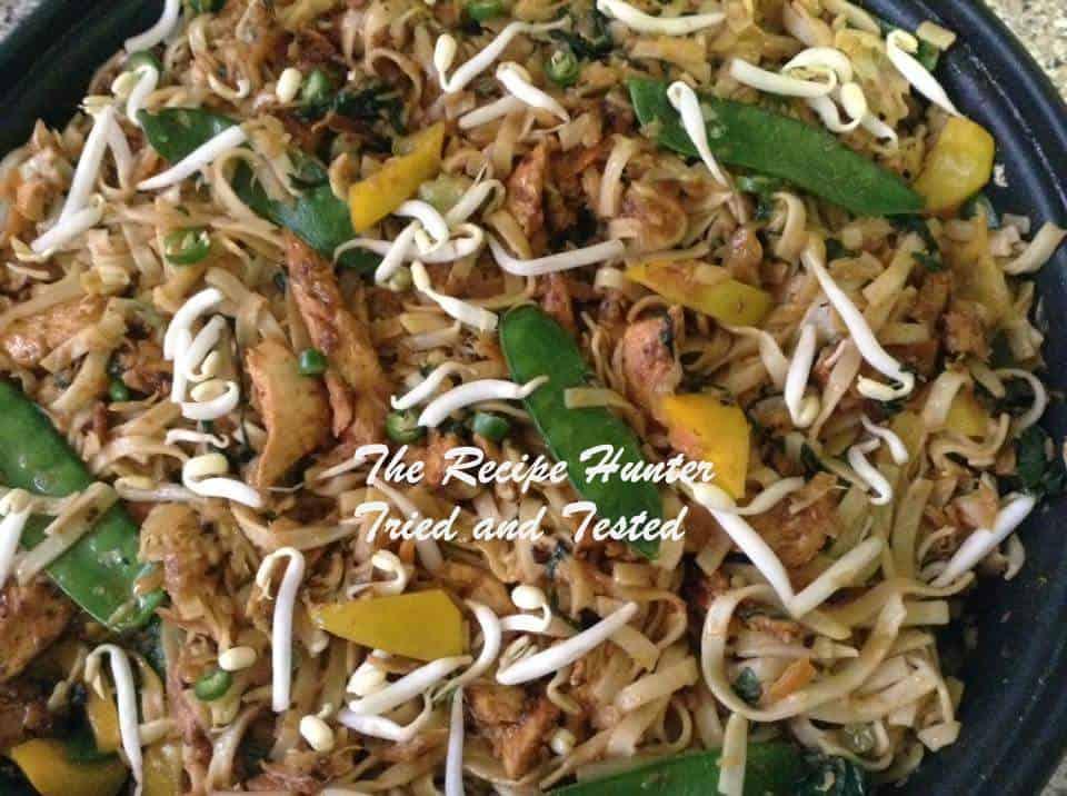 TRH Gail's Chicken Stir Fry with Noodles