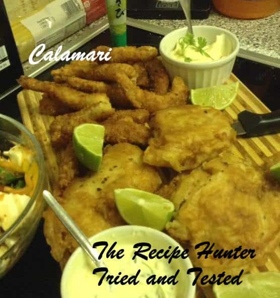 TRH Gail's Crumbed Calamari