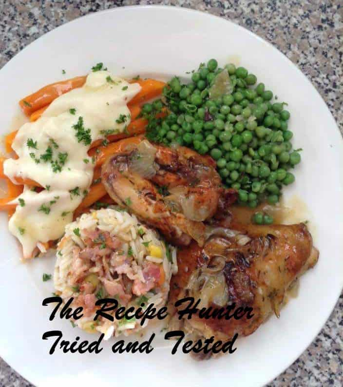 TRH Gail's Tarragon Chicken in Slow Cooker and Savoury Rice