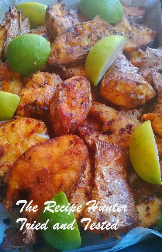 TRH Irene's Fried Fish....Tikka Style