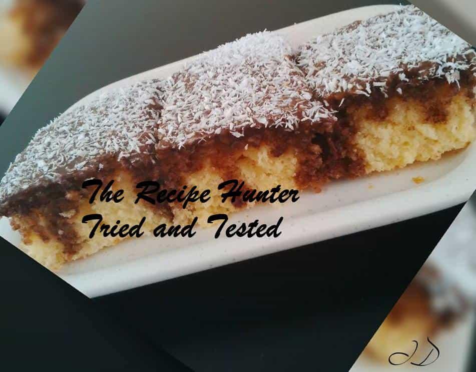 TRH Irene's Lamington Tray-Cake