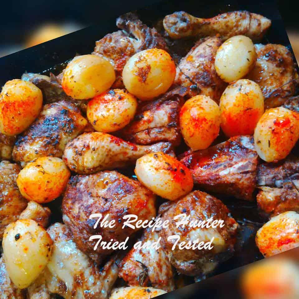 TRH Irene's Roast Chicken & Potatoes