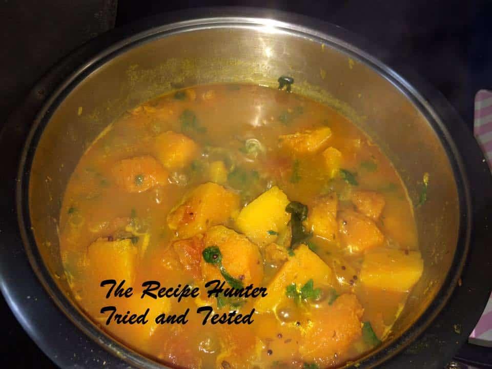 TRH Kamalini's Pumpkin curry