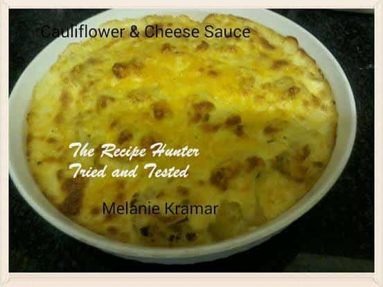 TRH Melanie's Cauliflower and Cheese Sauce