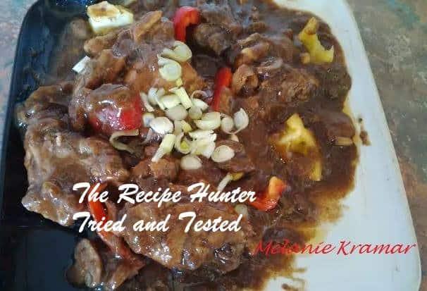TRH Melanie's Slow Cooker Chicken Stew