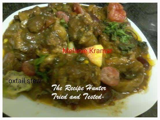 TRH Melanie's Slow Cooker Oxtail Stew