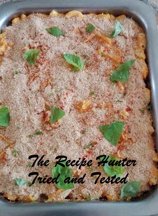 TRH Moegsida's Cheesy butternut pasta