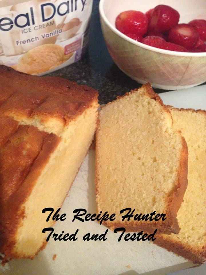 TRH Mona's Condensed Milk Pound Cake