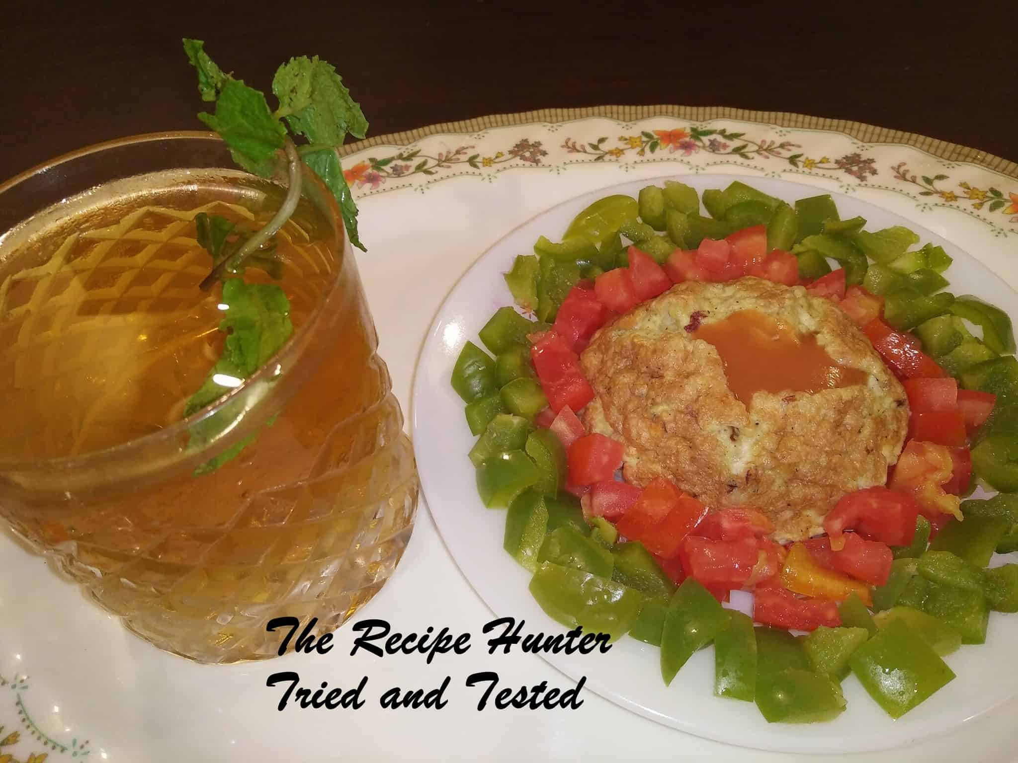 Moumita's Low Calorie Power Lunch With Homemade Digestive Drink