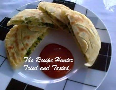 TRH Nazley's Mini spinach & potato Paratha's1
