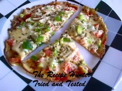Nazley's Pizza egg omelete