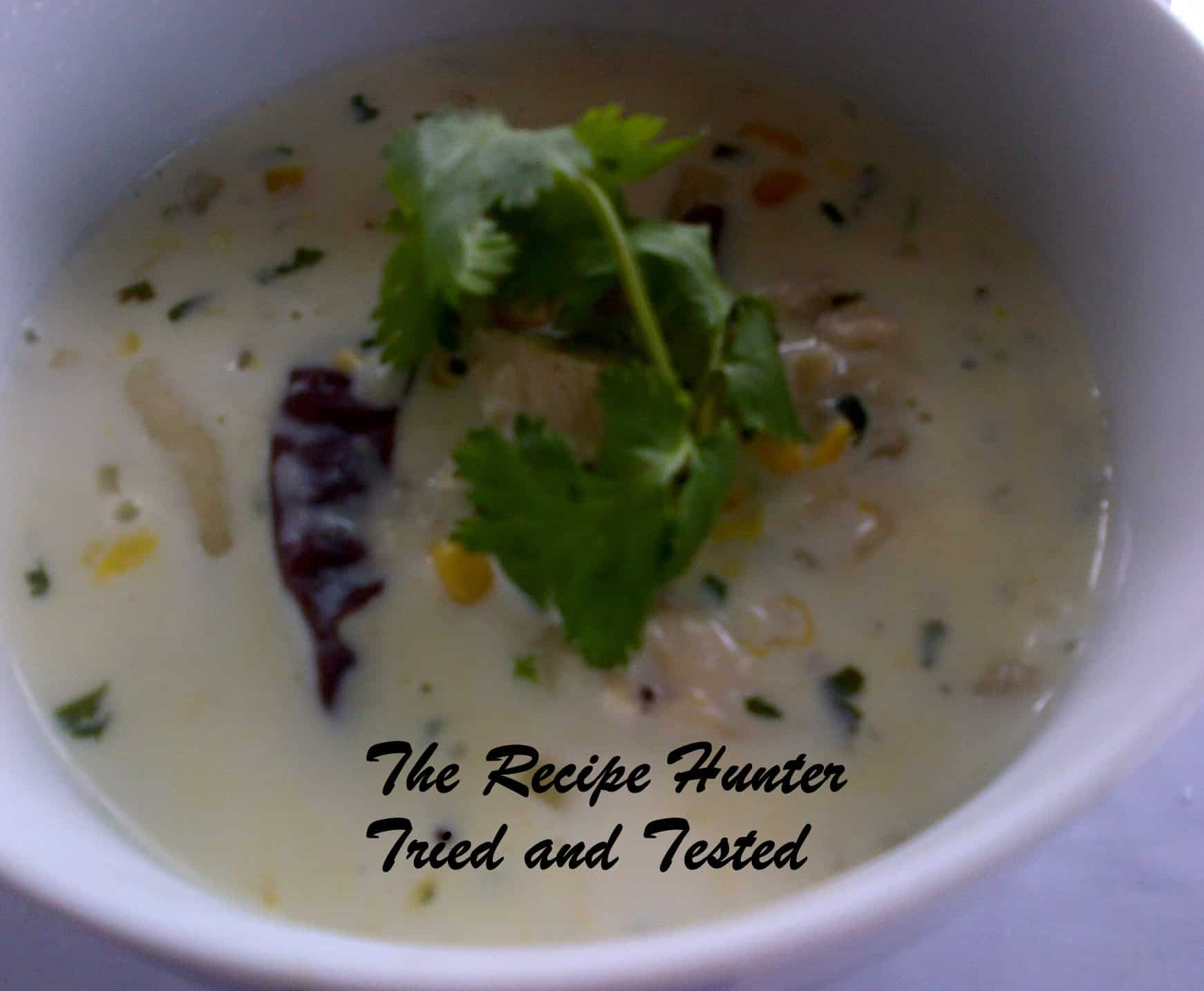 TRH Nazley's Spicy Creamy Chicken & Sweet Corn soup