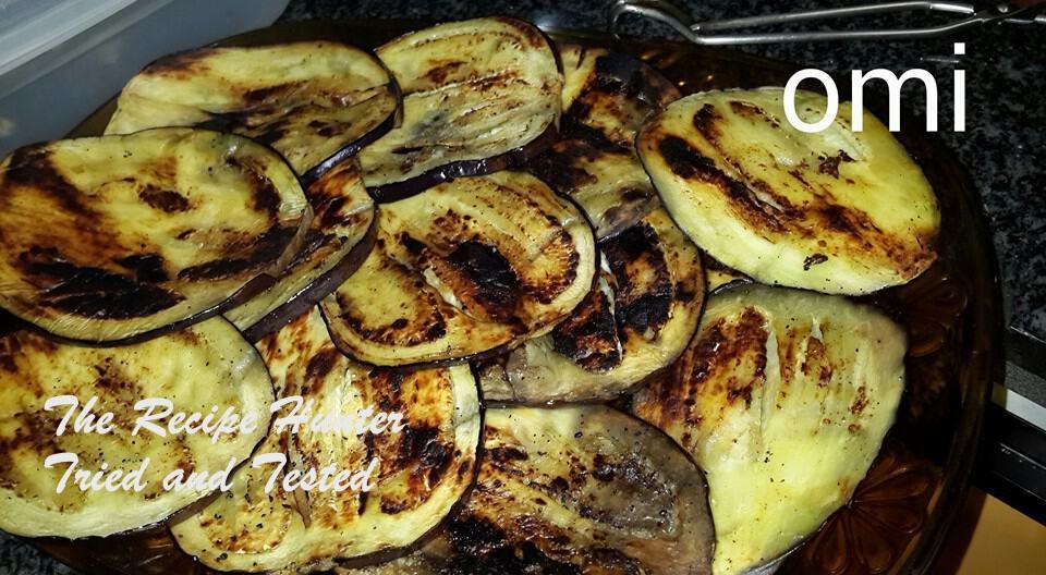 TRH Omi's Baked Brinjal in a tomato chutney (sauce)2