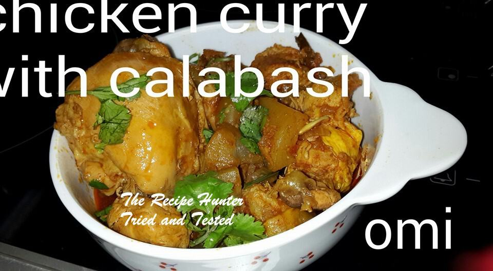 TRH Omi's Chicken Curry with Calabash