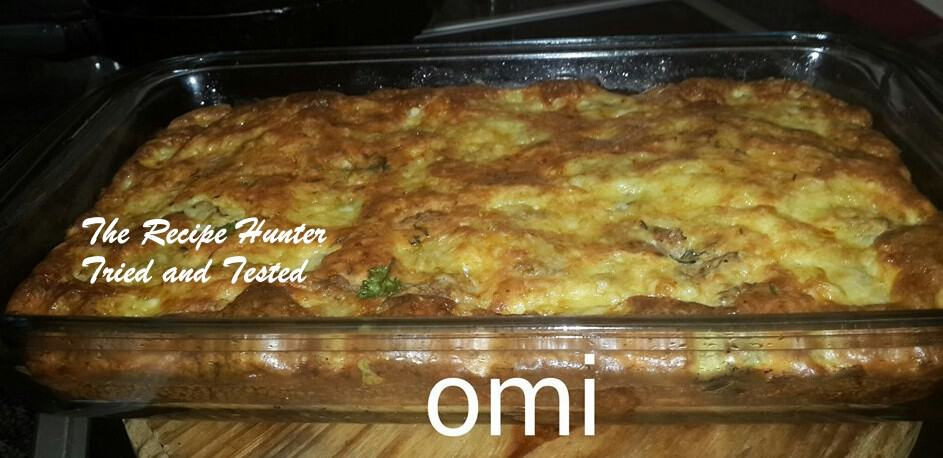 TRH Omi's Crustless Chicken Quiche
