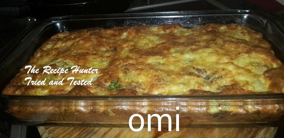 TRH Omi's Crustless Chicken Quiche