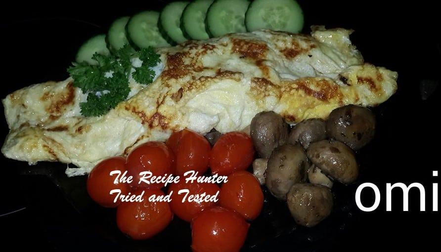 TRH Omi's healthy Omelette
