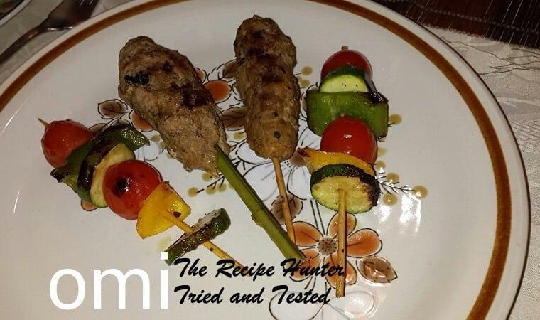 TRH Omi's Lamb Shish kebab