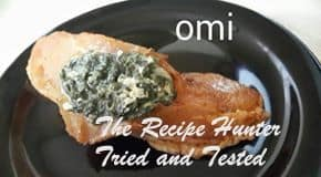 TRH Omi's Roasted Chicken Breass stuffed with a Creamy Spinach and Feta filling2