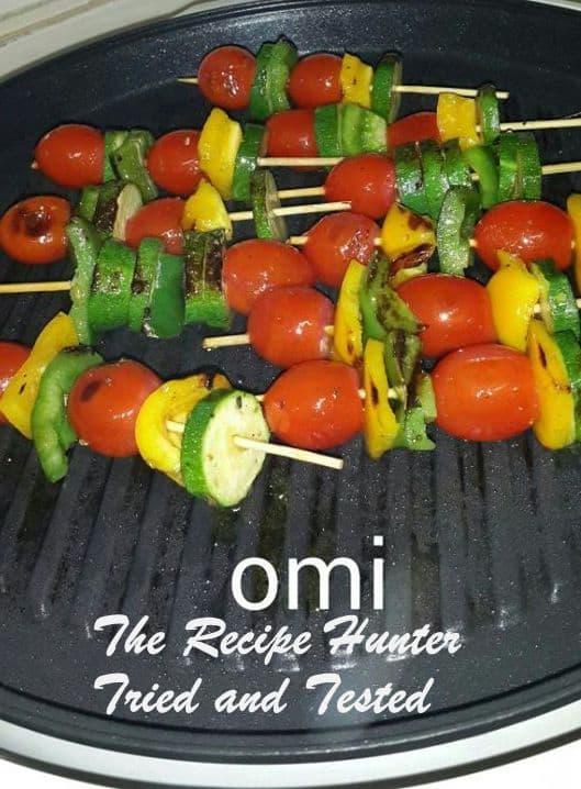TRH Omi's Vegetable Skewers
