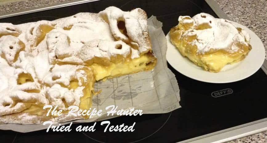 TRH Polish Carpathian Mountain Cake OR Custard Eclair Cake