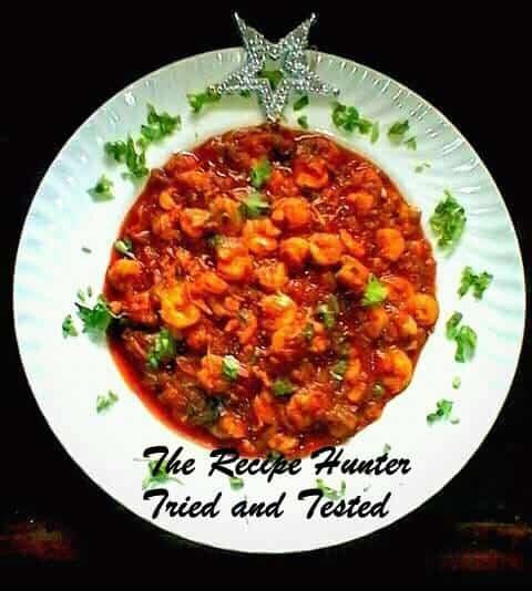 TRH Robin's Bombay Prawn Curry