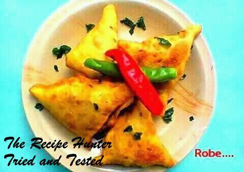 Robin's Indian Style Masala Panner Stuffed Samosa