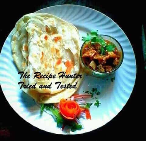 Robin's Kerla Parata with Lamb Curry