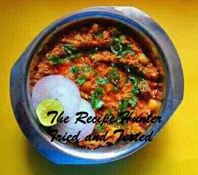 TRH Robin's Lamb Mince Potato Curry