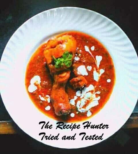 TRH Robin's Masala Chicken Curry