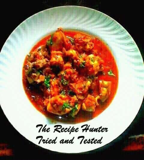 TRH Robin's Saffron Chicken Curry