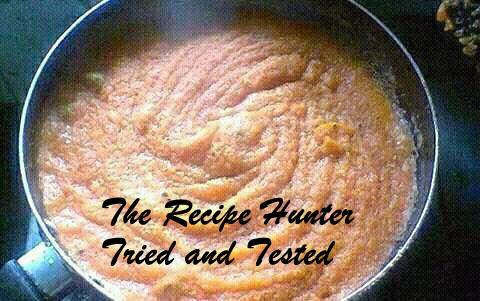 TRH Robin's Semolina Halwa Indian Dish2