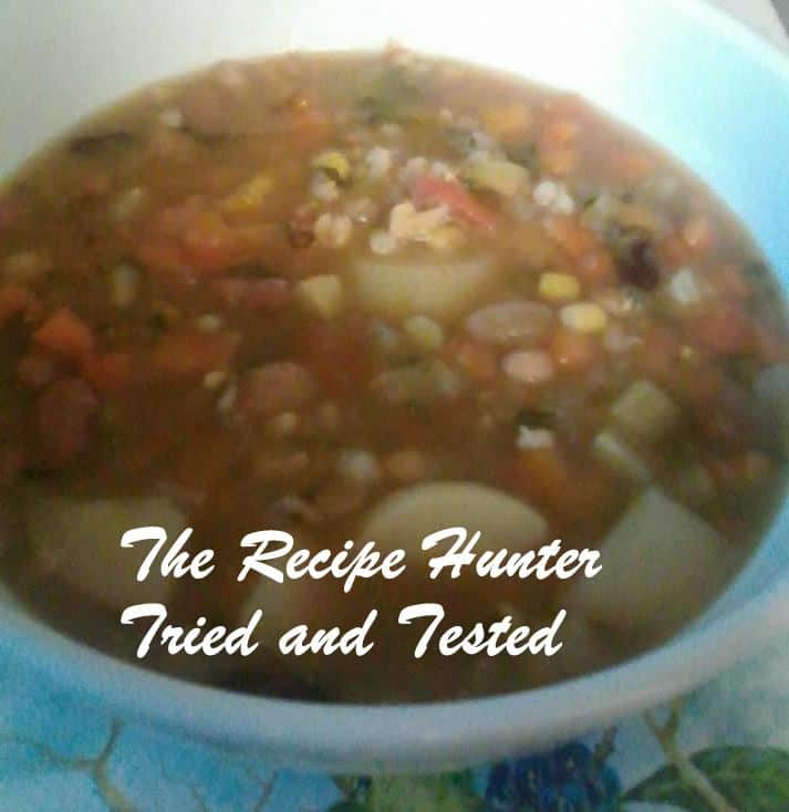 TRH Sadsac's Healthy Vegetable Soup