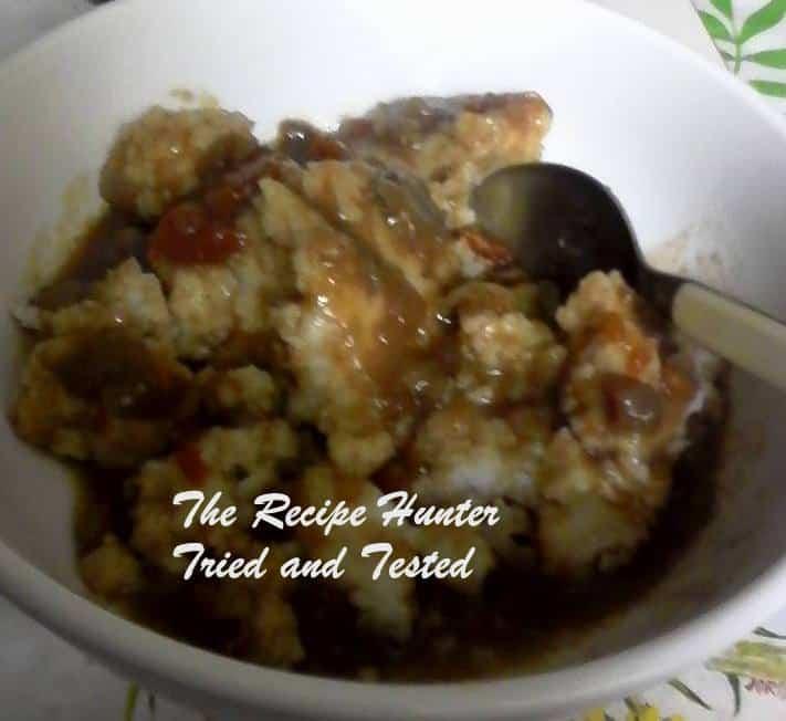 TRH Sadsac's Pap and sauce