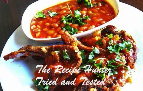TRH Sureka's Deepika's masala lambchops and Diya's baked beans.jpg