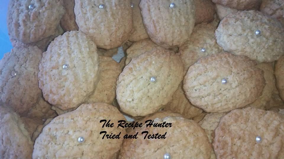 TRH Faye's Cardamom biscuits