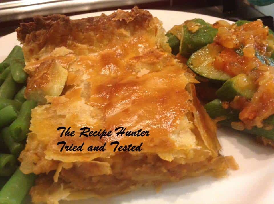 TRH Gail's Savoury Mince Pie with quick Puff Pastry