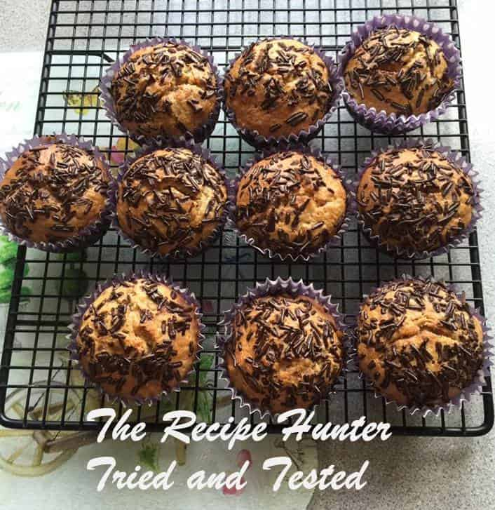 TRH Jasmita's Banana and Mixed nut breakfast muffins