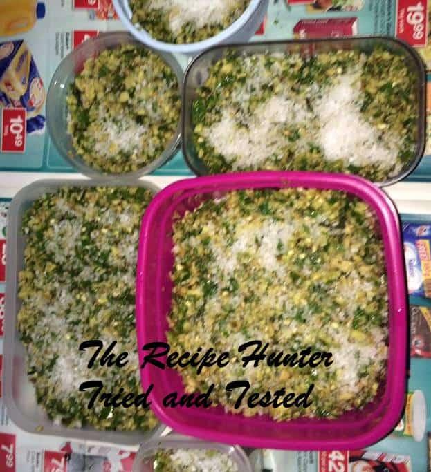 TRH Kamalini's Fresh green masala