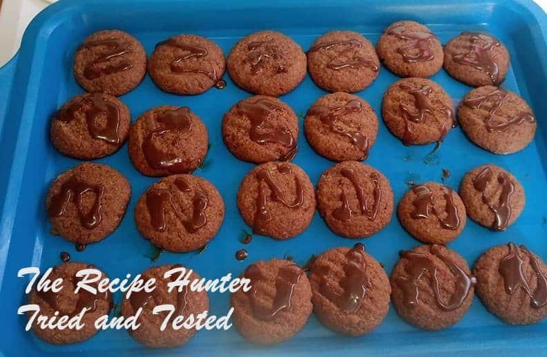 TRH Lerato's Chocolate biscuits