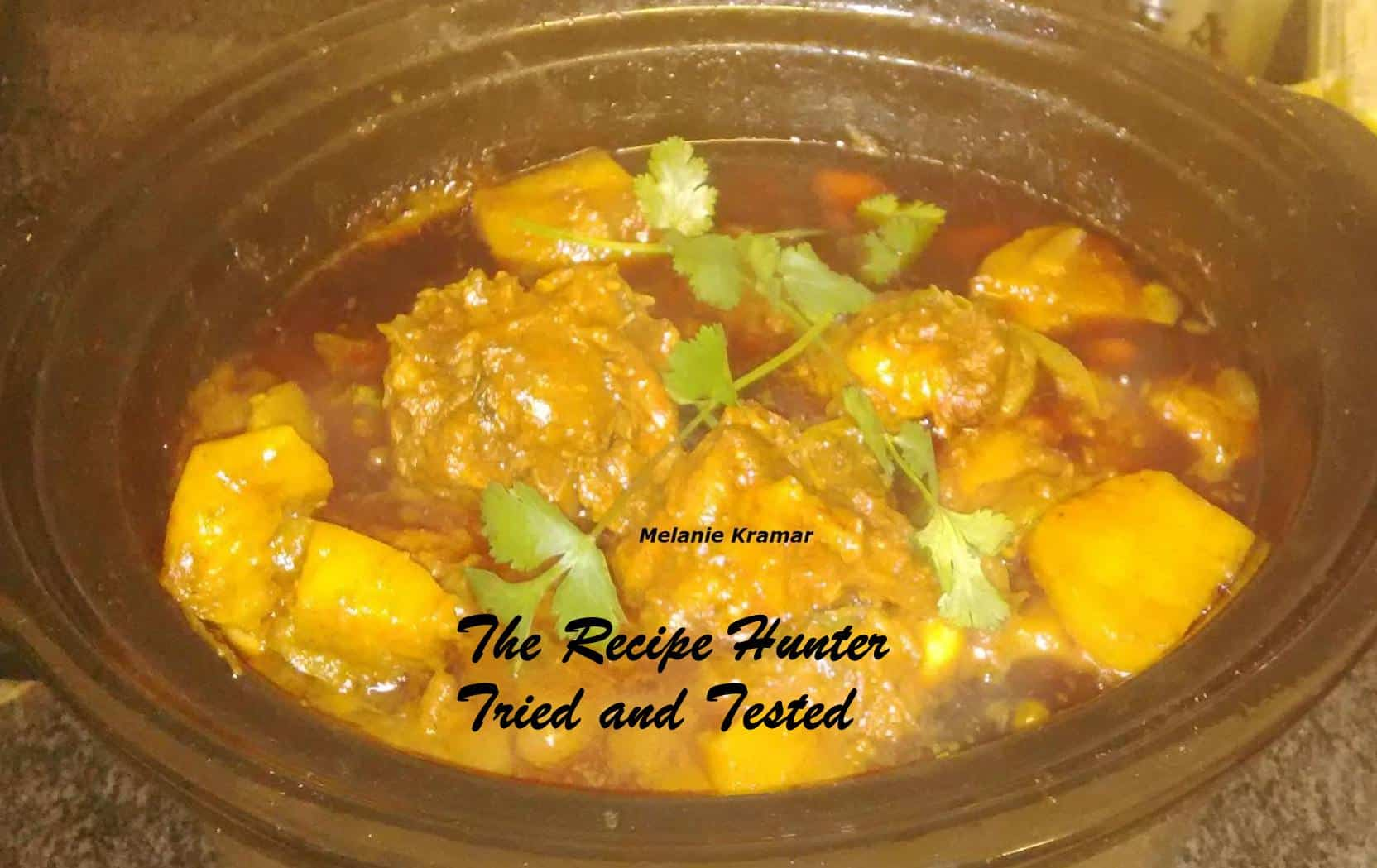 Melanie's Oxtail Curry