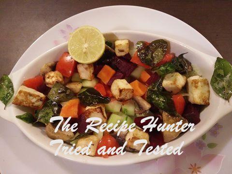 TRH Moumita's High Protein, Colorful Salad