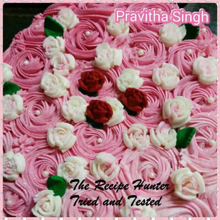 TRH Pravitha's Vanilla Sponge Cake