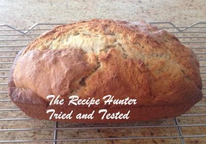 TRH Rubina's Banana Bread