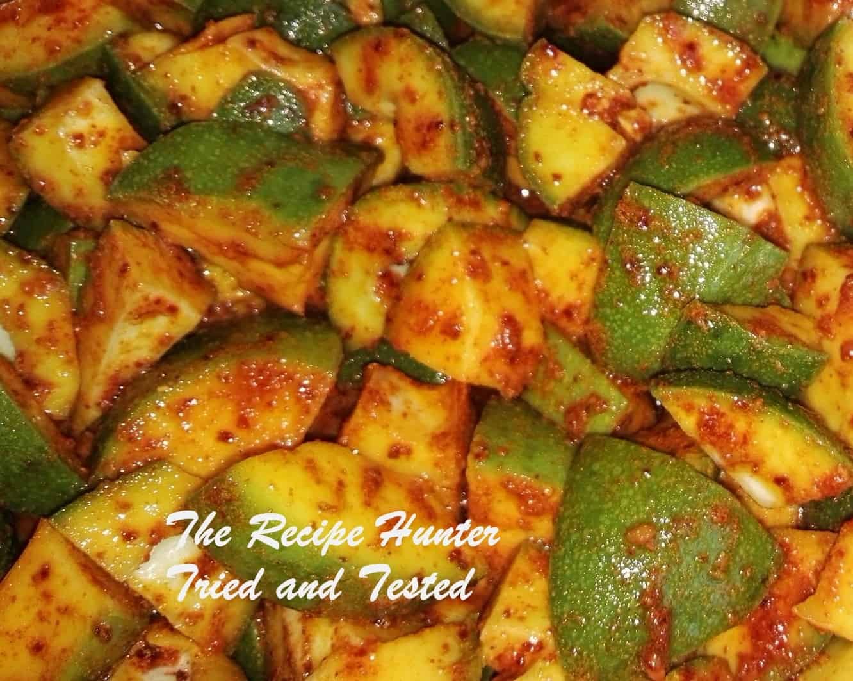 TRH Sureka's Quick mango pickle