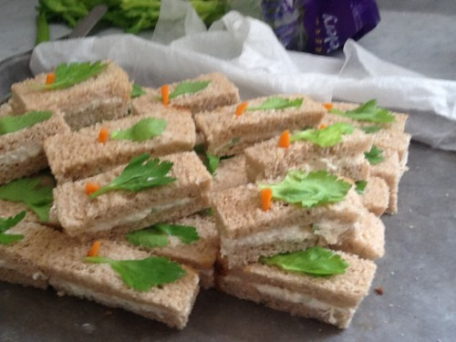 Tea Sandwiches…