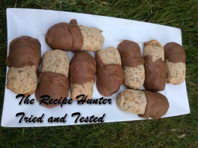 TRH Es's Mint KitKat logs